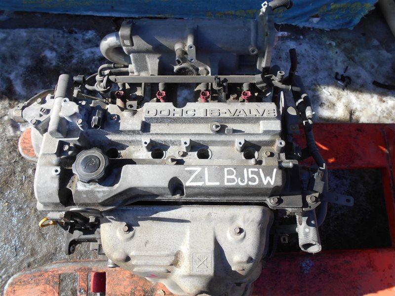 Двигатель Mazda Familia BJ5W ZLDE