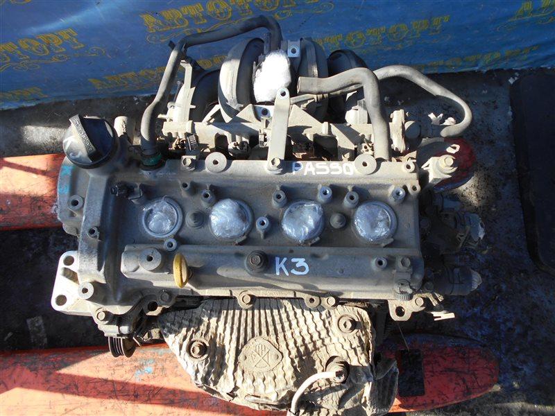 Двигатель Toyota Passo QNC10 K3