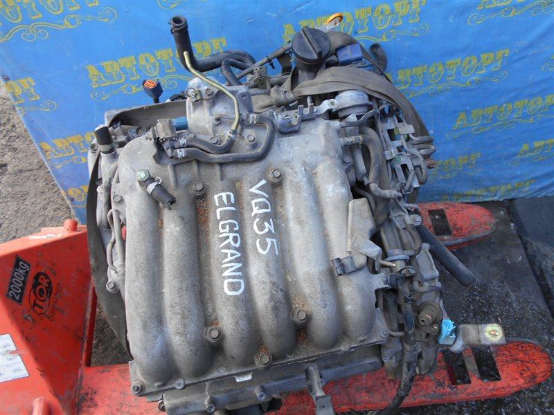 Двигатель Nissan Elgrand E51 VQ35