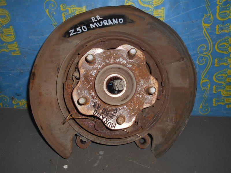 Ступица Nissan Murano Z50 VQ35-DE 2002 задняя правая