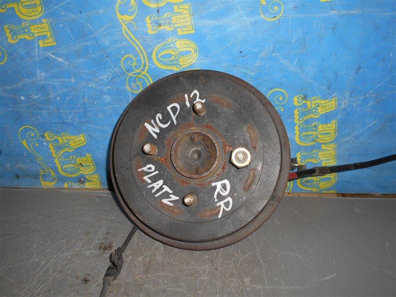 Ступица Toyota Platz NCP12 задняя правая
