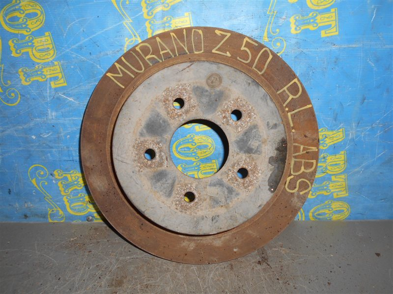 Тормозной диск Nissan Murano Z50 VQ35-DE 2002 задний