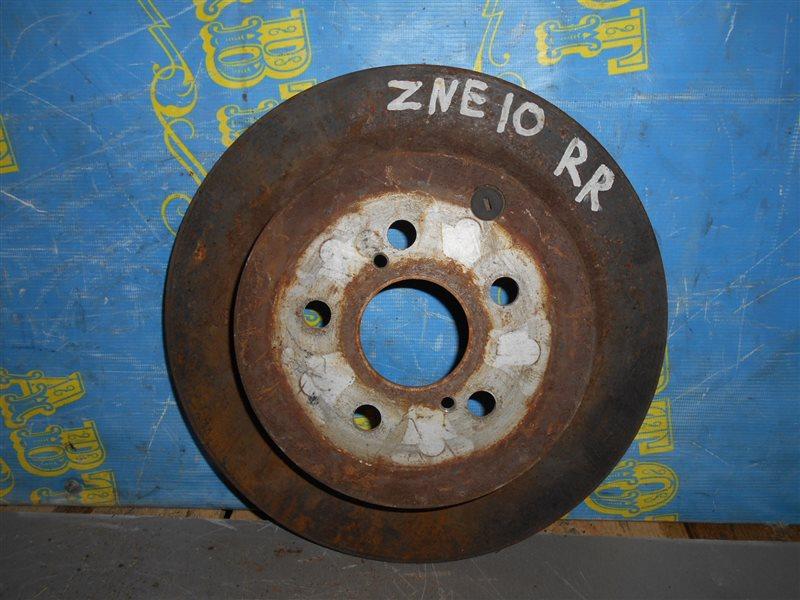 Тормозной диск Toyota Wish ZNE10 1ZZ задний