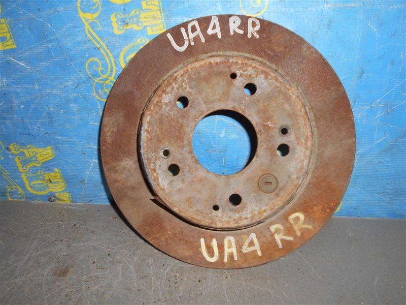 Тормозной диск Honda Inspire UA4 J25A задний