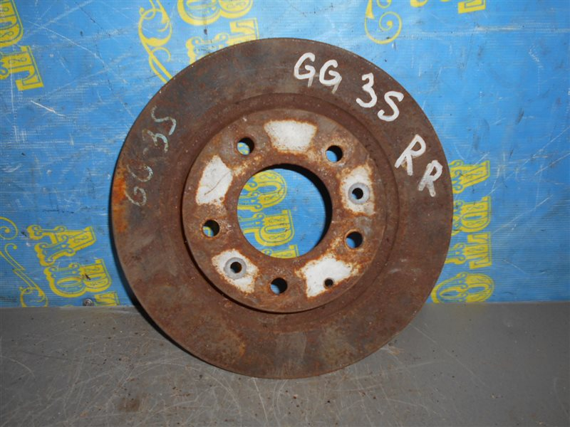 Тормозной диск Subaru Impreza GG3 задний