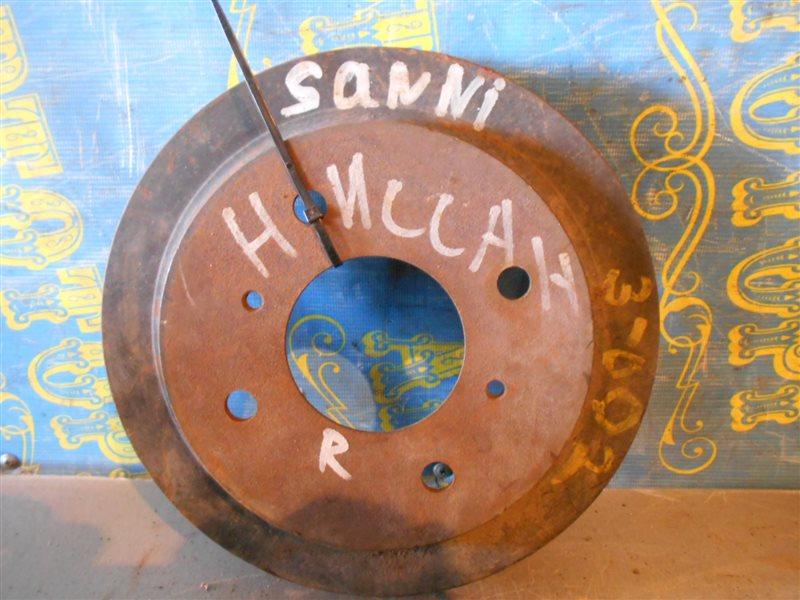 Тормозной барабан Nissan Sunny FB15 задний