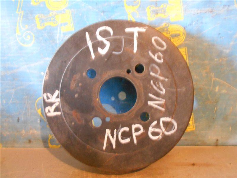 Тормозной барабан Toyota Ist NCP60 задний