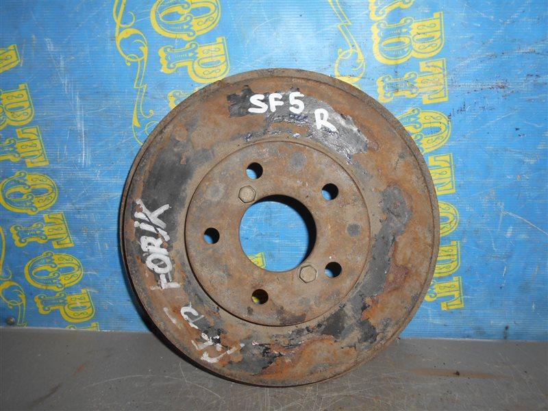 Тормозной барабан Subaru Forester SF5 задний