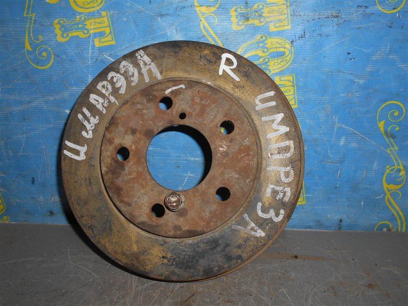 Тормозной барабан Subaru Impreza GG2 задний