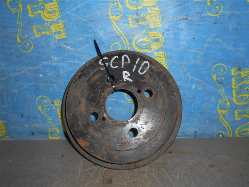 Тормозной барабан Toyota Vitz SCP10 задний