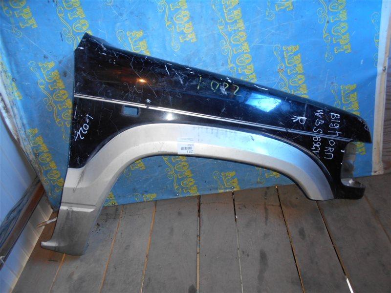 Крыло Isuzu Bighorn UBS69 переднее правое