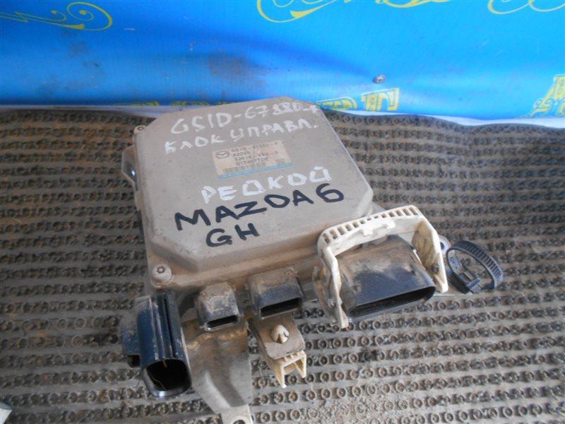 Блок управления рулевой рейкой Mazda 6 GH LF17 2008