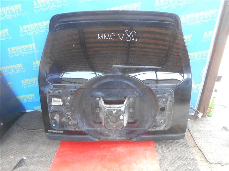 Дверь 5-я Mitsubishi Pajero V83W 4M41 2010