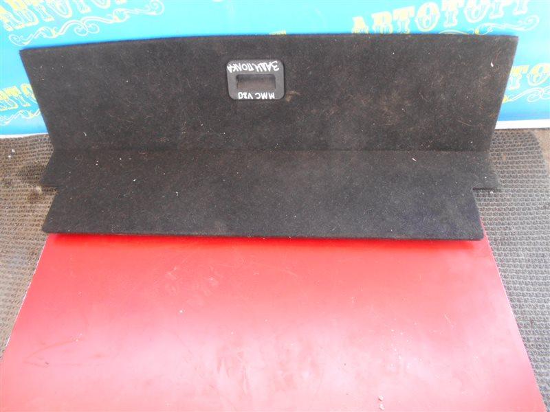 Пол багажника пластик Mitsubishi Pajero V83W 4M41 2010