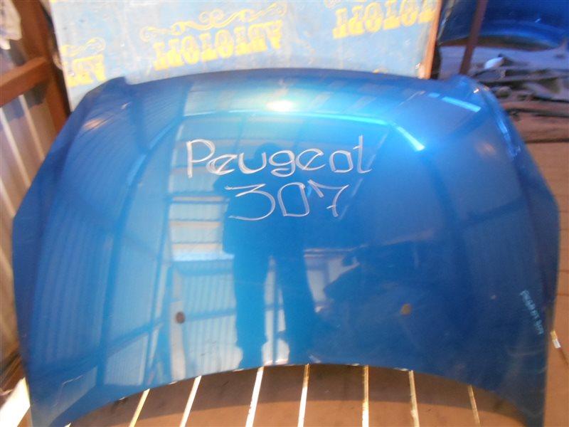Капот Peugeot 307 3H