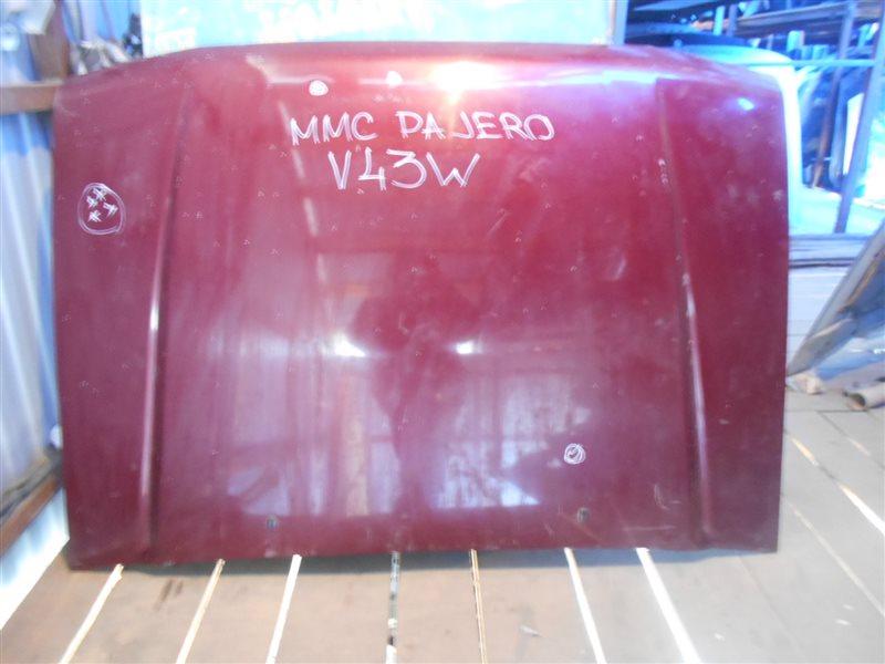 Капот Mitsubishi Pajero V43W