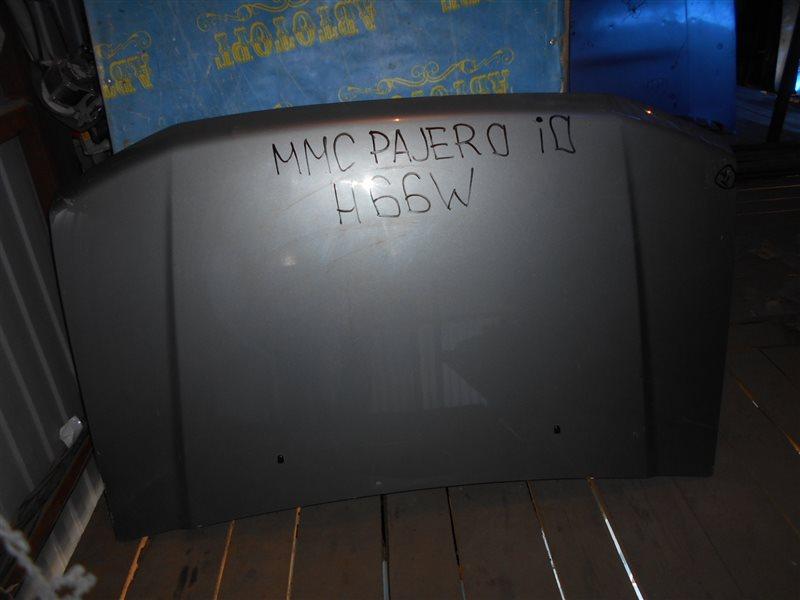 Капот Mitsubishi Pajero Io H66W