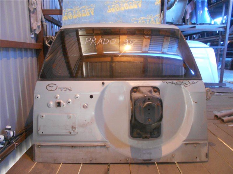 Дверь 5-я Toyota Land Cruiser Prado KZJ95 1KZ