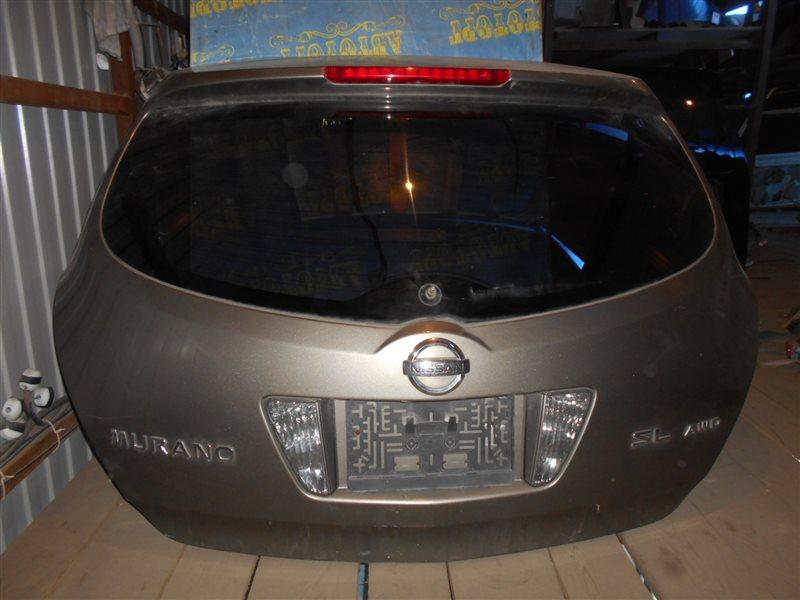 Дверь 5-я Nissan Murano Z50 VQ35-DE 2002