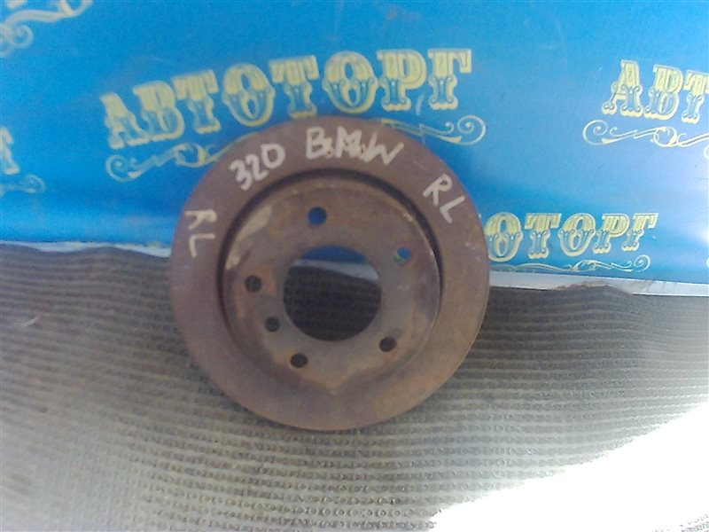 Тормозной диск Bmw 3 Series E46 задний