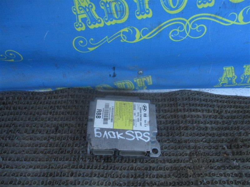 Блок управления airbag Hyundai Solaris RB G4FC 2013