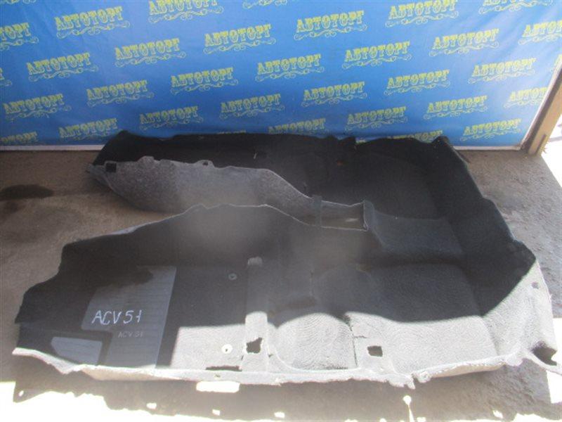 Ковер пола Toyota Camry ACV51 1AZ 2012