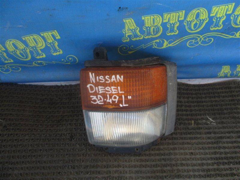 Поворотник Nissan Diesel CK610BNT RE10 1995 левый