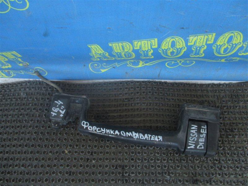 Форсунка омывателя Nissan Diesel CK610BNT RE10 1995 левая