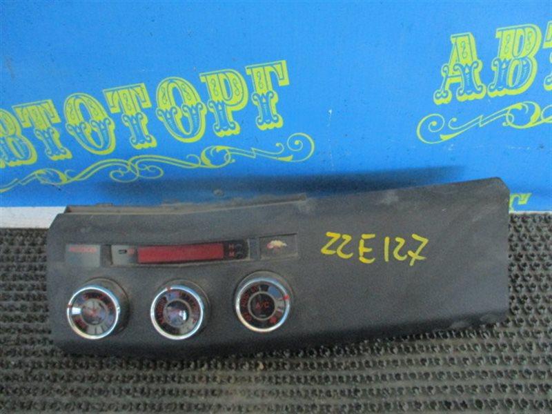 Блок управления климат-контролем Toyota Will ZZE127