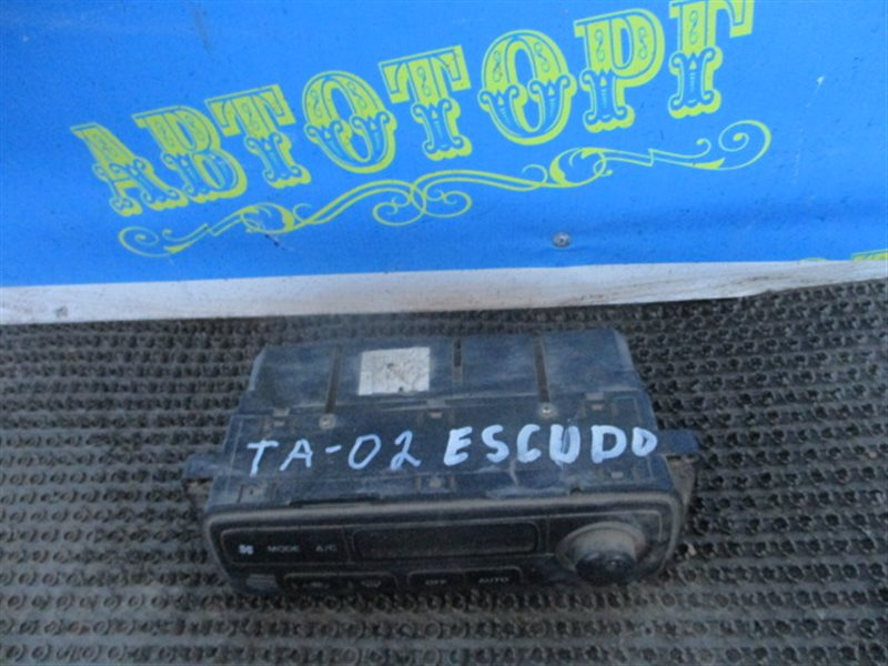 Блок управления климат-контролем Suzuki Escudo TA02