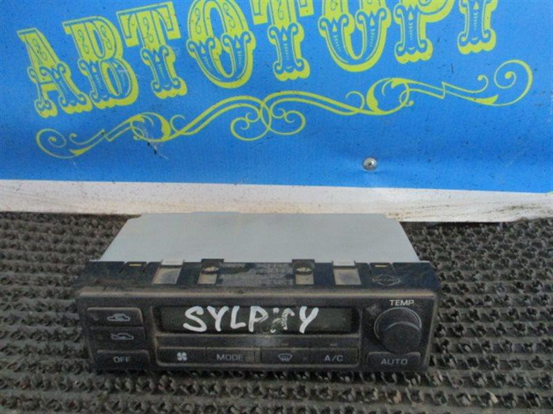Блок управления климат-контролем Nissan Bluebird Sylphy QG10
