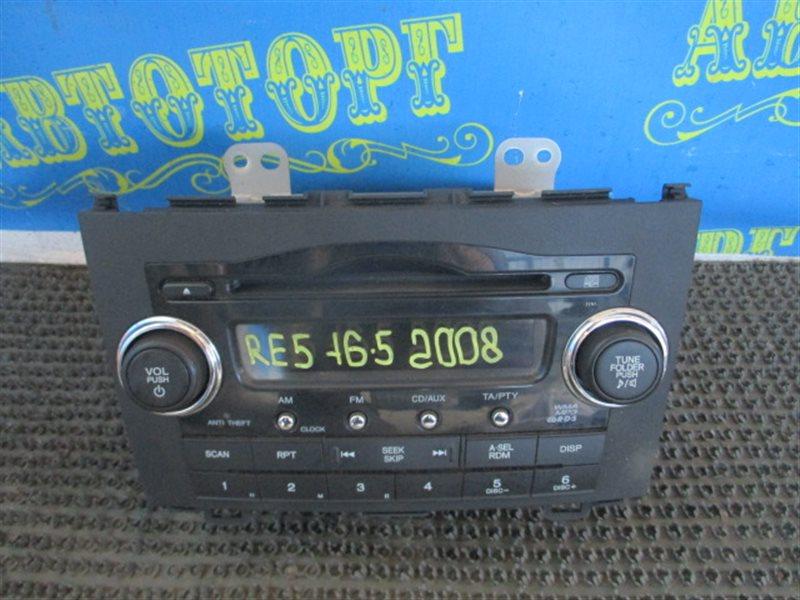 Магнитофон Honda Cr-V RE5 R20A 2008
