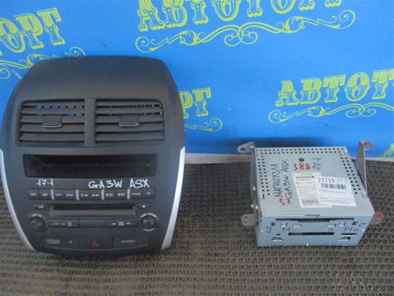 Магнитофон Mitsubishi Asx GA3W 4B10 2010