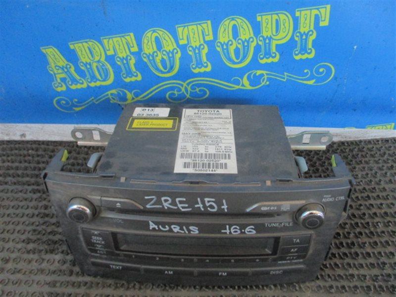 Магнитофон Toyota Auris ZRE151L 1ZR 2008