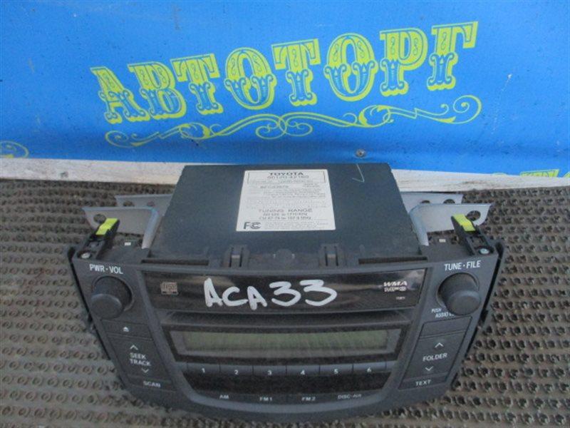 Магнитофон Toyota Rav4 ACA33 2AZ 2008