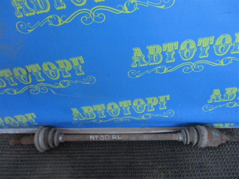 Привод Nissan Xtrail NT30 QR20 2001 задний левый