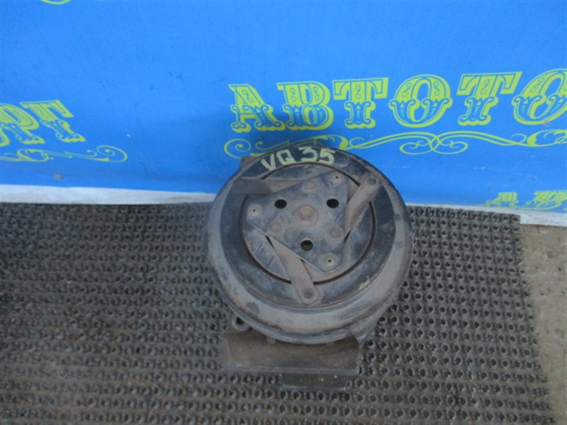 Компрессор кондиционера Nissan Murano Z50 VQ35-DE 2002