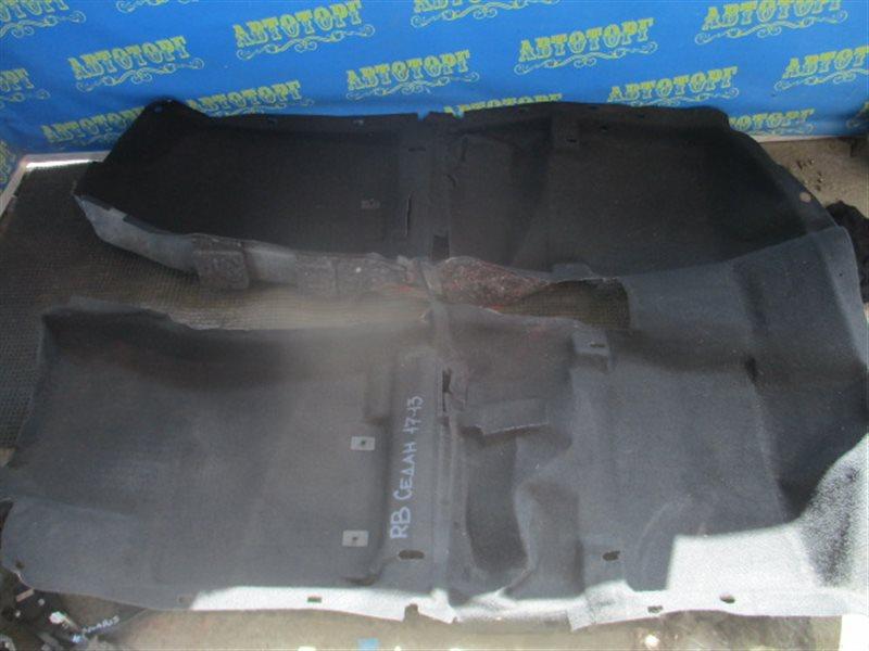 Ковер пола Hyundai Solaris RB G4FC 2012