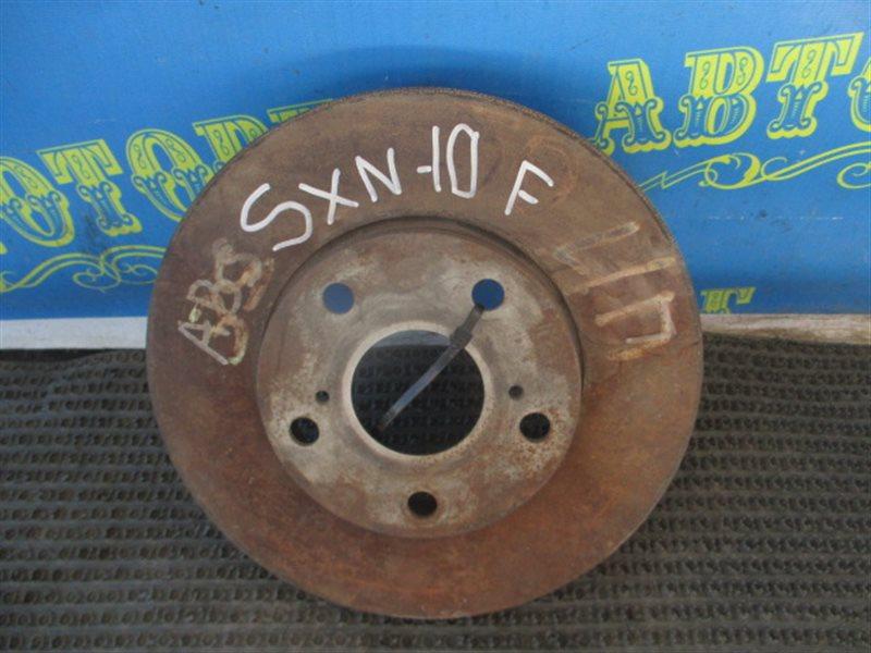 Тормозной диск Toyota Nadia SXN10 передний