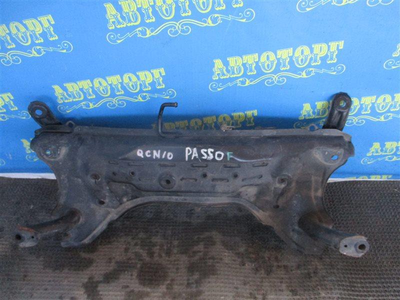 Балка Toyota Passo QNC10 K3 передняя