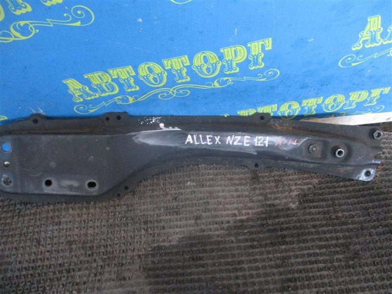 Балка продольная Toyota Allex NZE121 1NZ передняя