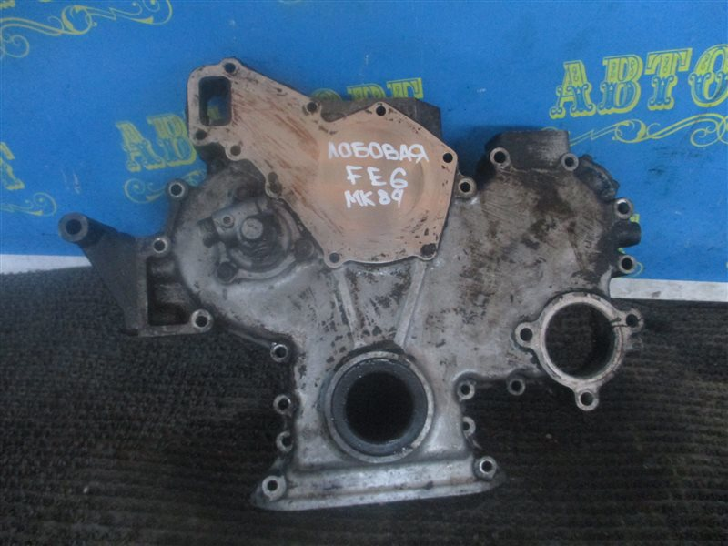 Лобовина двигателя Nissan Condor MK89 FE6 передняя
