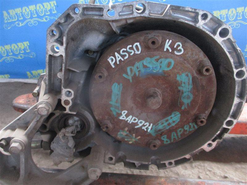 Акпп Toyota Passo KGC10 1KR