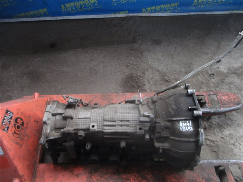 Акпп Mitsubishi Pajero V83W 4M41 2010
