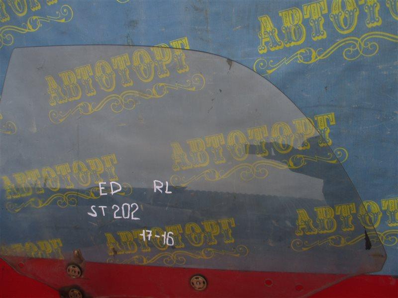 Стекло двери Toyota Carina Ed ST202 3S 1994 заднее левое
