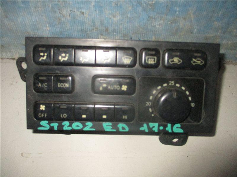 Блок управления климат-контролем Toyota Carina Ed ST202 3S 1994