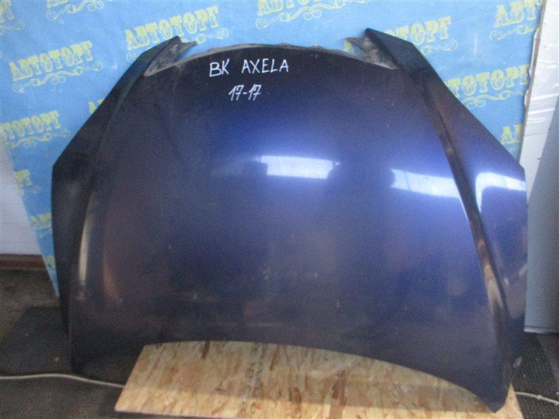 Капот Mazda Axela BK ZY 2004