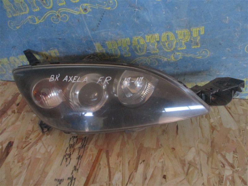 Фара Mazda Axela BK ZY 2004 передняя правая