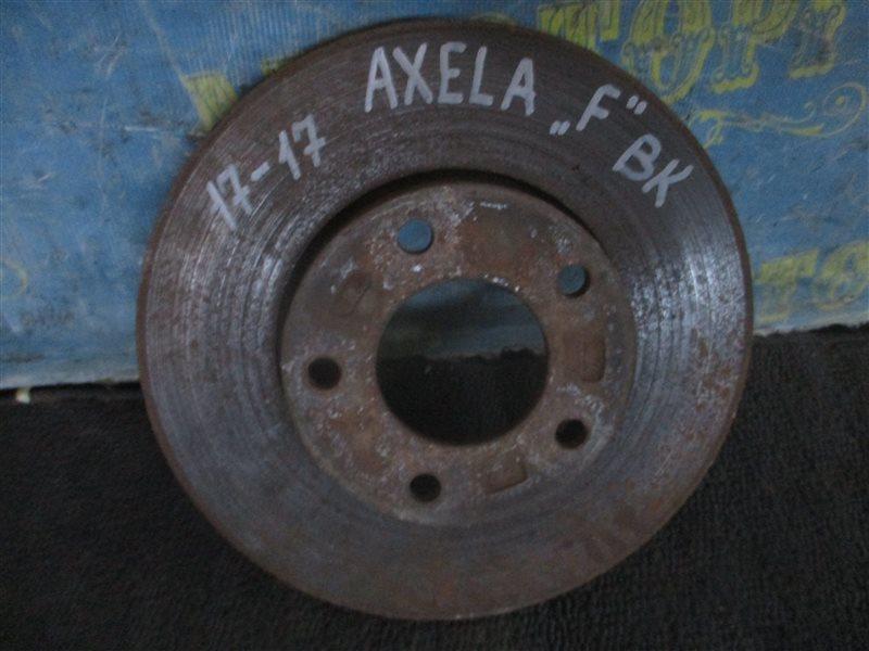Тормозной диск Mazda Axela BK ZY 2004 передний