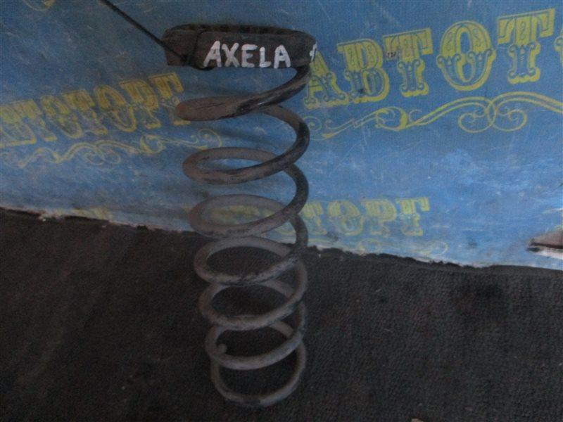 Пружина Mazda Axela BK ZY 2004 задняя